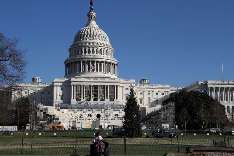 Капитолий в Вашингтоне, здание Конгресса США
