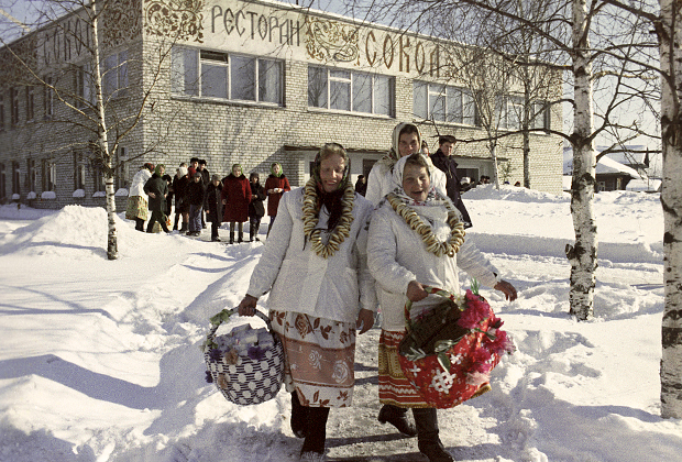 Проводы русской зимы. 1970 год
