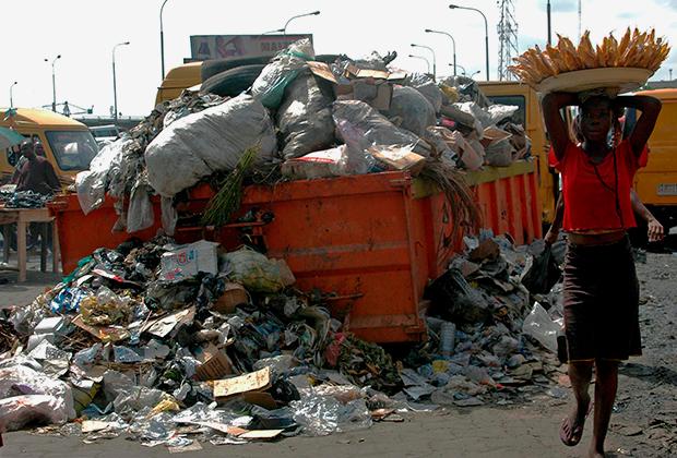 Свалка в Лагосе