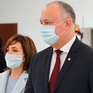 Майя Санду и Игорь Додон