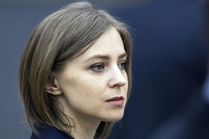 Поклонская предложила начать переговоры с Украиной по водообеспечению Крыма