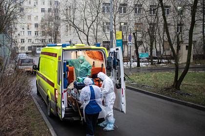 В России за сутки умерли 518 пациентов с коронавирусом