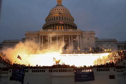 Определено число пострадавших из-за беспорядков в Вашингтоне полицейских