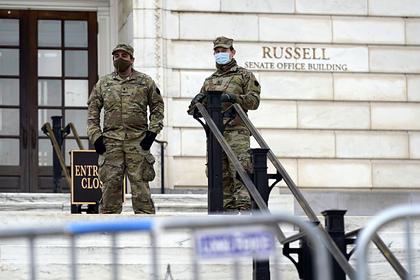 У Капитолия нашли пикап с оружием и взрывными устройствами