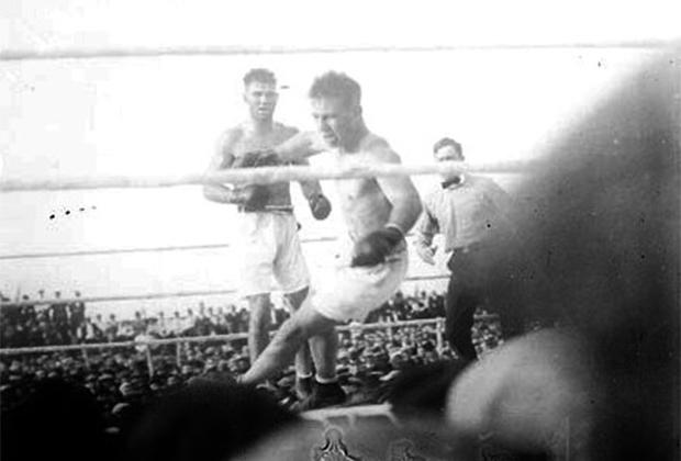 Билли Миске против Джека Демпси, 1920 год
