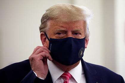 Трамп осудил беспорядки в Вашингтоне