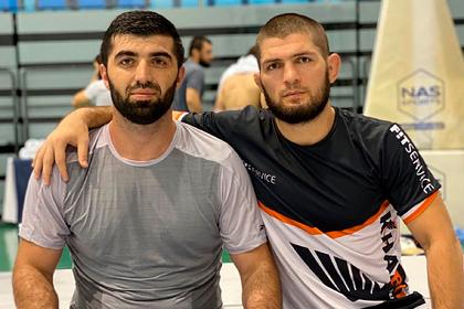 Ризван Магомедов и Хабиб Нурмагомедов