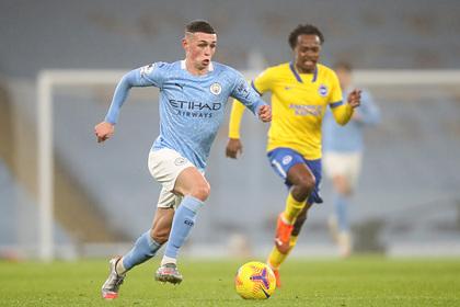 «Манчестер Сити» выиграл четвертый матч подряд и вышел на третье место в АПЛ