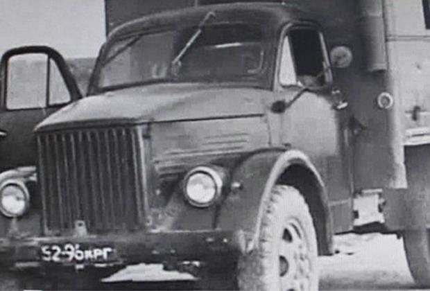 ГАЗ-51, на котором ехали инкассаторы из Вилино