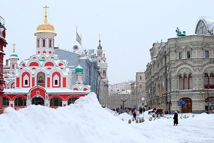 Гидрометцентр объяснил аномальные снегопады и морозы в Москве: Общество: Россия: Lenta.ru
