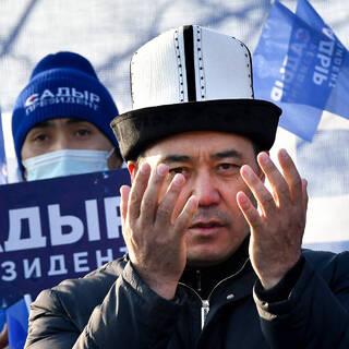 Избранный президент Киргизии Садыр Жапаров