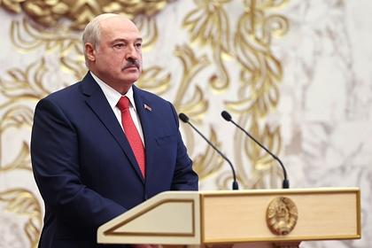 Лукашенко сообщил об объявленной Белоруссии войне