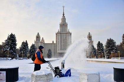 В Москве выпало рекордное количество осадков