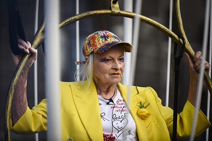 79-летняя Вивьен Вествуд обнажилась во имя природы