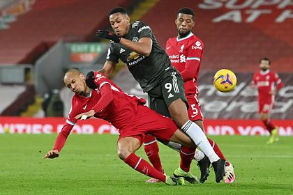 Центральный матч тура АПЛ между МЮ и «Ливерпулем» завершился вничью