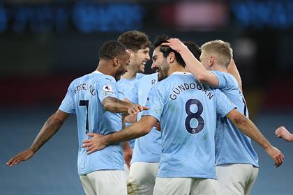 «Манчестер Сити» выиграл пятый матч подряд и вышел на второе место в АПЛ