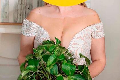 Платье невесты с оптической иллюзией в зоне декольте смутило пользователей сети