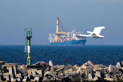 «Газпром» впервые заговорил опровале «Северного потока-2»