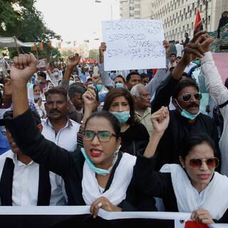 Пакистанские христиане протестуют против детских и насильственных браков