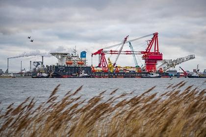 Россия отреагировала на новые санкции США против «Северного потока-2»