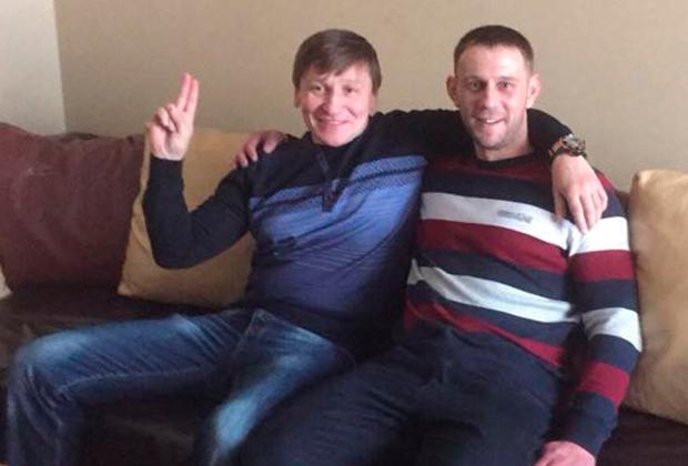 Александр Кушнеров (Саша Кушнер, слева) и Александр Шульберт (Шульц)