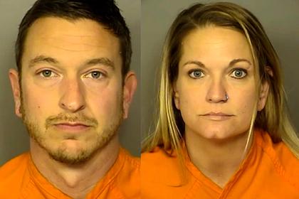 Мужчина и женщина снимали порно в общественных местах и попались полиции