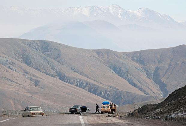 Единственная автомобильная дорога, соединяющая Армению и Нагорный Карабах