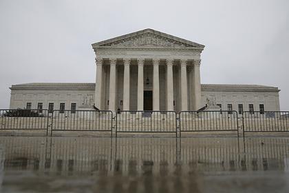 Верховный суд США эвакуировали из-за угрозы взрыва