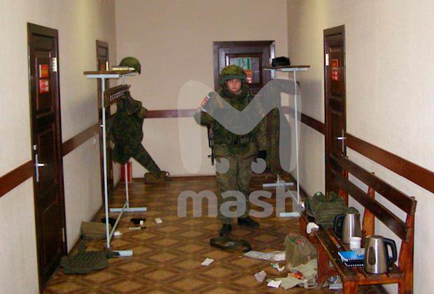 Фото с места расстрела сослуживцев рядовым Шамсутдиновым