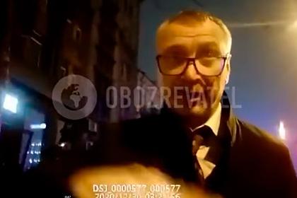 Немилостивый поскандалил с украинскими полицейскими и впал в немилость