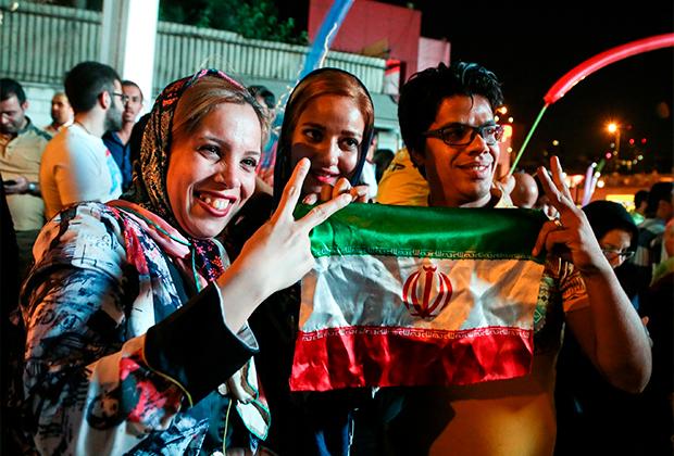 Празднование заключения СВПД в Тегеране, 2015 год