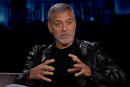 Джордж Клуни пришел на киноплощадку пьяным