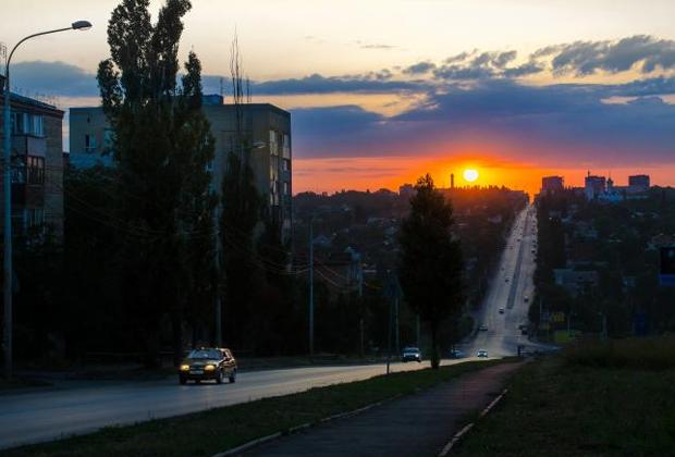 Парковая улица в Шахтах, где жила Лена Закотнова