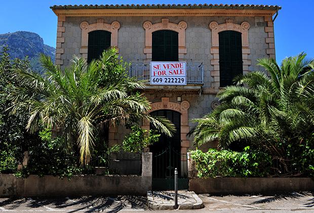 Дом, участвующий в распродаже. Дея, Пальма-де-Майорка, Испания