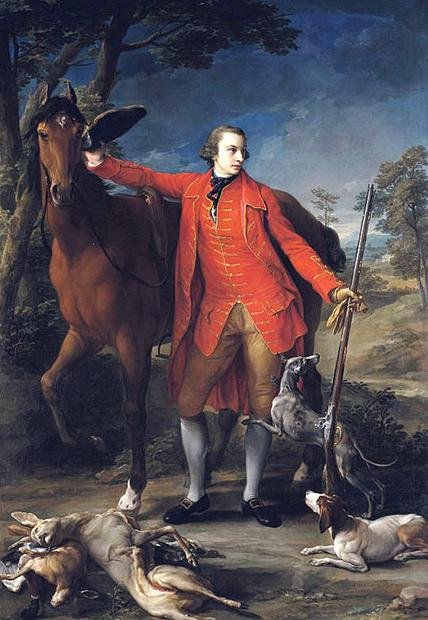 Портрет графа Александра Гордона кисти Помпео Батони, 1764 год