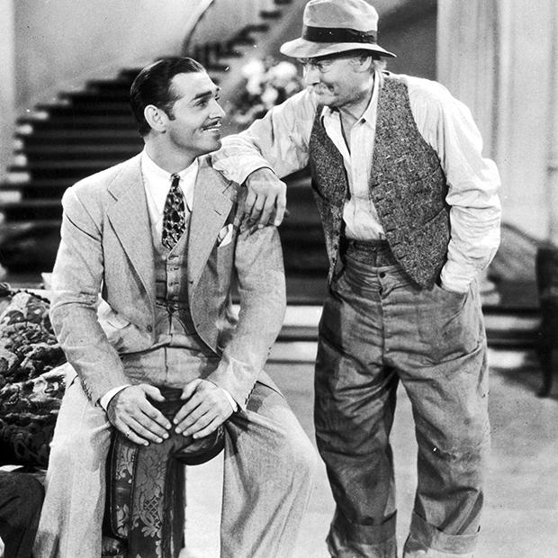 Кадр из фильма «Саратога» с Кларком Гейблом, 1937 год