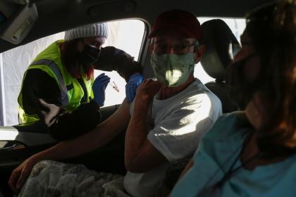 Житель США привился от коронавируса и через несколько часов умер