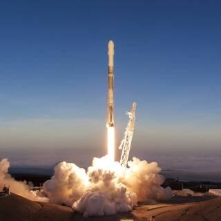 Запуск Falcon 9 со спутниками Iridium NEXT (архив)