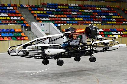 Россиянам пообещали летающее такси