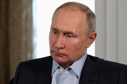 Путин предложил ввести в России новый запрет