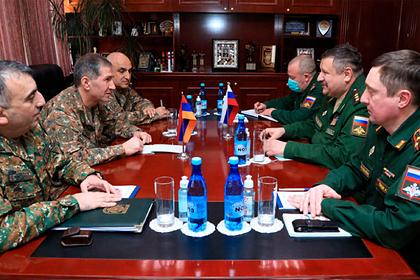 В Армению прибыла делегация российского Генштаба
