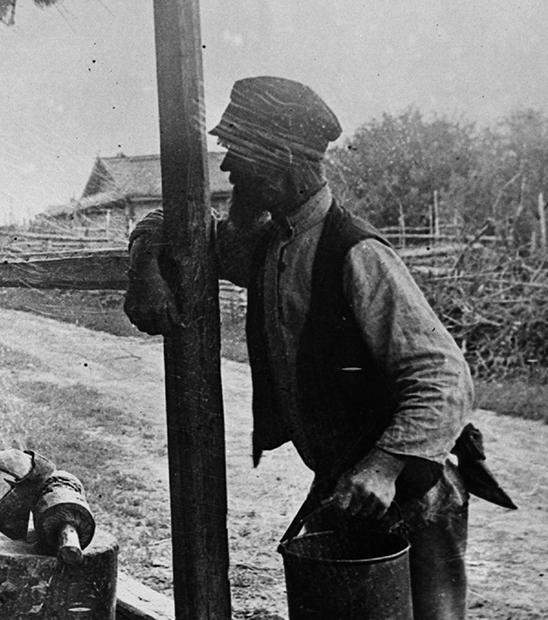 Деревенский житель, СССР, 1921 год