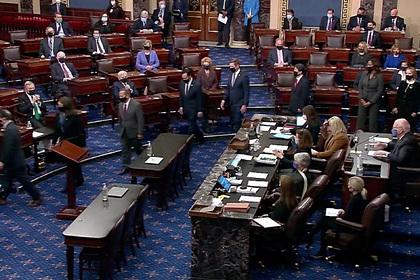 Резолюцию об импичменте Трампа передали в сенат