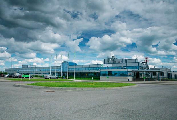 Завод «Оптоган» в Санкт-Петербурге