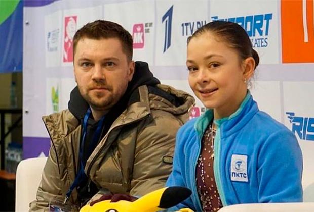 Сергей Давыдов и Софья Самоделкина