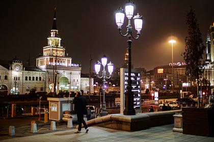 В Москве перекрыли площадь трех вокзалов