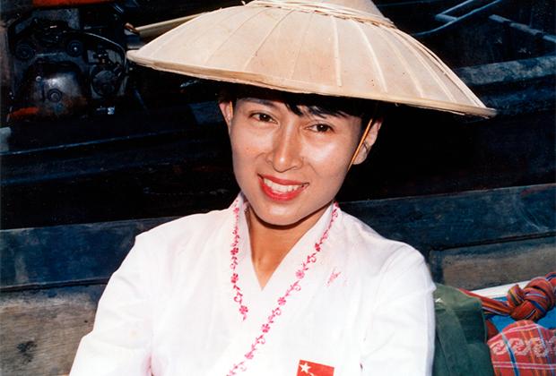 Аун Сан Су Чжи в 1991 году