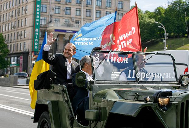 Медведчук на праздновании Дня Победы