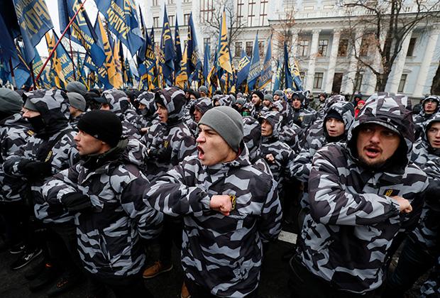 Праворадикалы, Киев, 2018 год