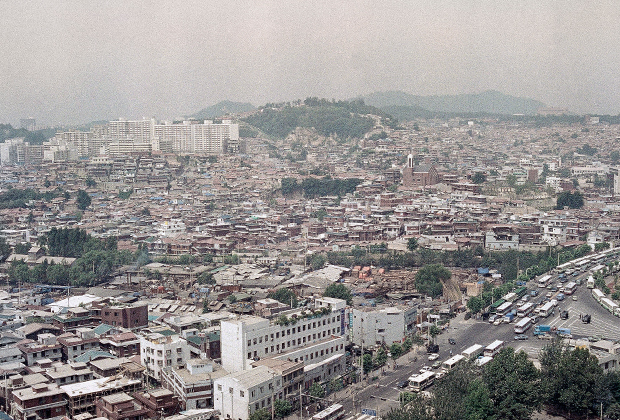Сеул, 1989 год